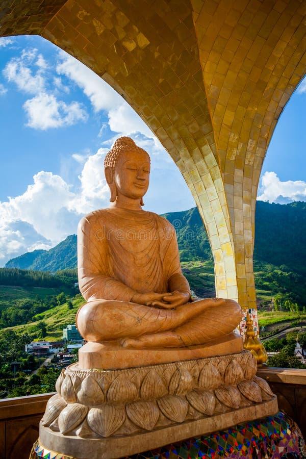 Templo Wat Phasornkaew fotografía de archivo libre de regalías