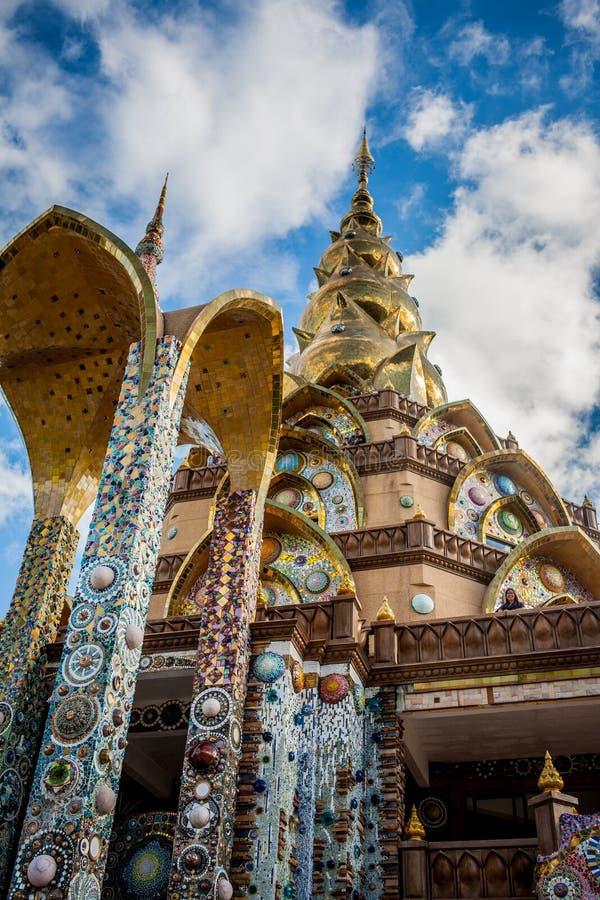 Templo Wat Phasornkaew imagen de archivo
