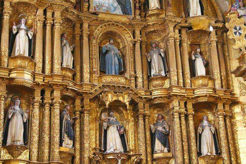 Templo XI de Santo Domingo foto de archivo