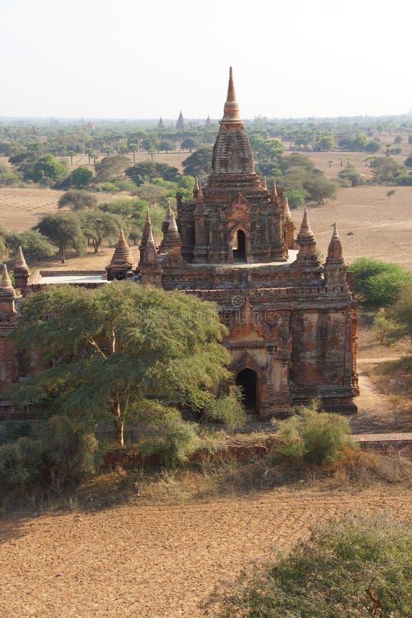 Templos antigos e stupas imagem de stock