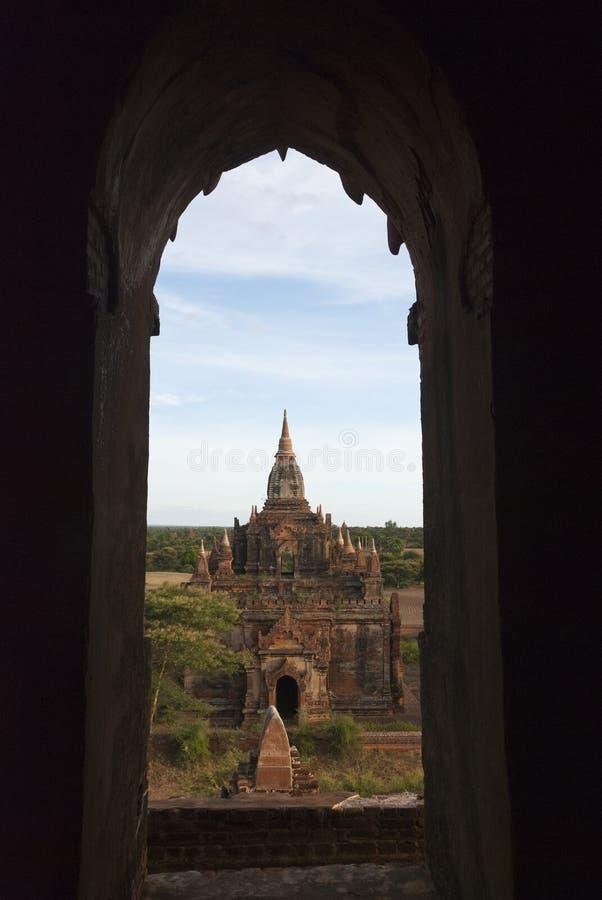 Templos antigos em Bagan, Myanmar imagens de stock