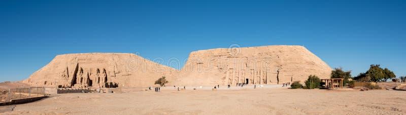 Templos de Abu Simbel fotografia de stock royalty free
