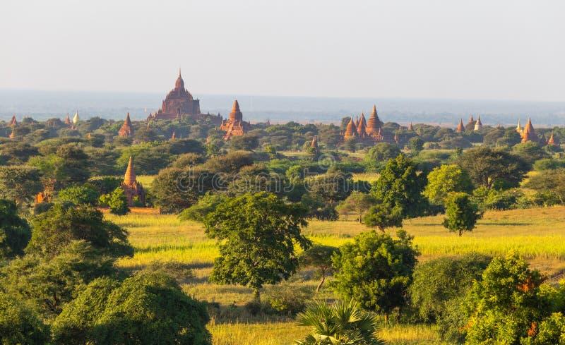 Templos de Bagan, Myanmar fotos de stock royalty free