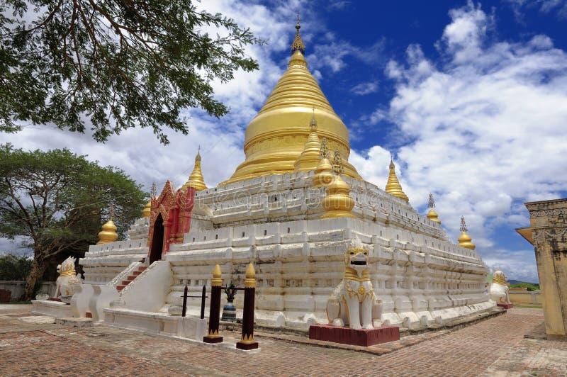 Templos de Bagan Myanmar fotos de stock royalty free