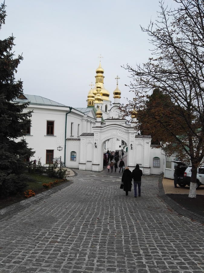 Templos de Kiev imagen de archivo libre de regalías