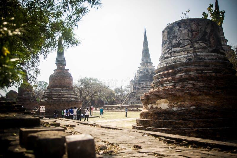 Templos de la historia foto de archivo