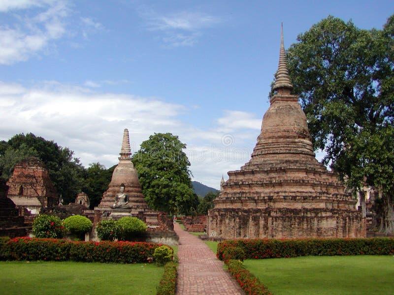 Templos Tailandeses Fotografía de archivo libre de regalías
