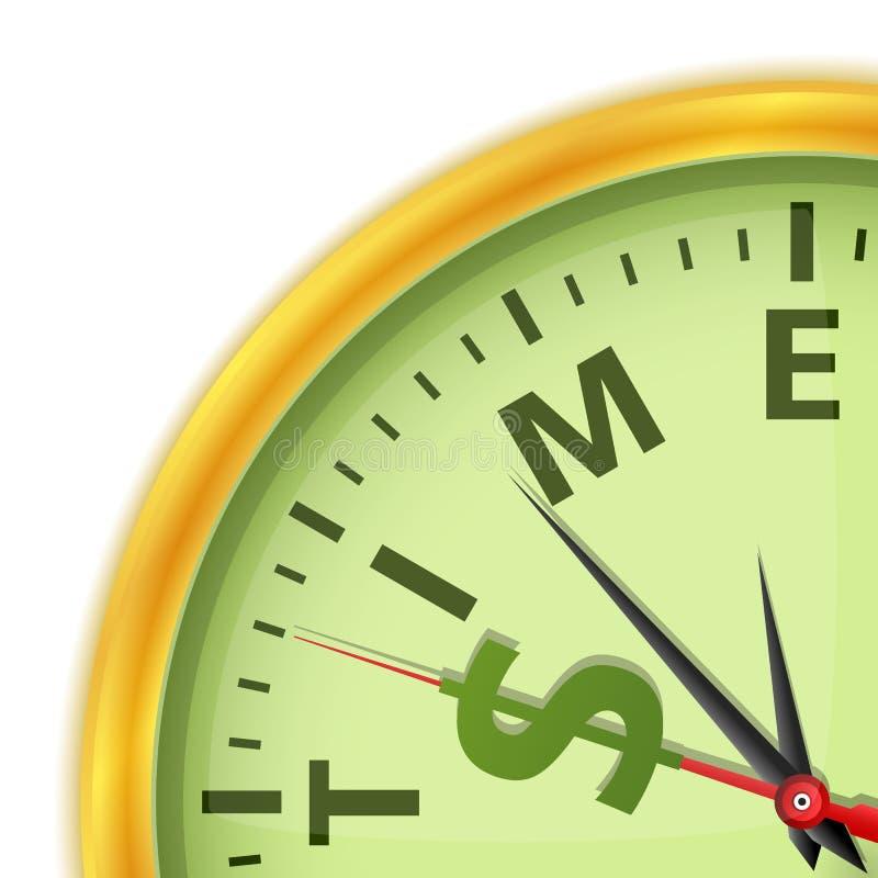 Download Tempo é dinheiro ilustração do vetor. Ilustração de dourado - 26522672