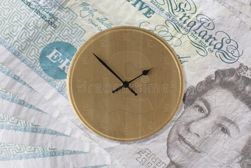 Tempo é dinheiro - versão BRITÂNICA imagem de stock
