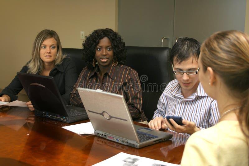 Tempo 2 di riunione fotografie stock libere da diritti