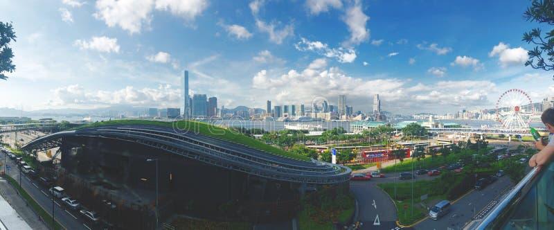 Tempo agradável em Hong Kong fotografia de stock
