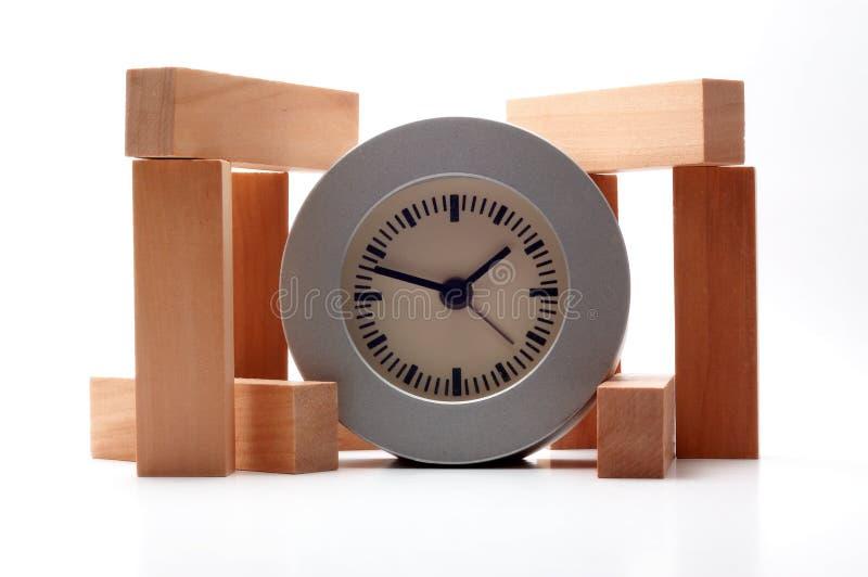 Tempo & materiais imagens de stock royalty free