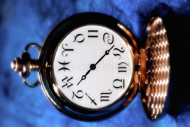 Tempo astrologico fotografie stock libere da diritti