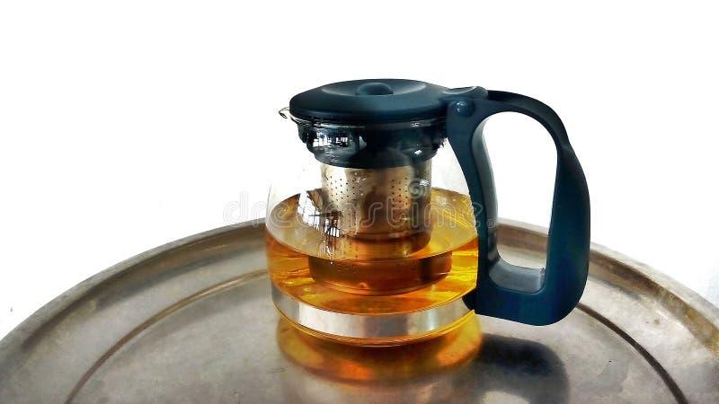 Tempo caldo della pausa caffè e del tè fotografia stock
