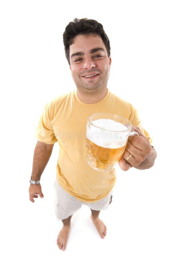 Tempo da cerveja foto de stock
