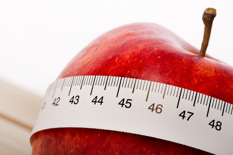 Download Tempo da dieta! imagem de stock. Imagem de perca, alaranjado - 12804329