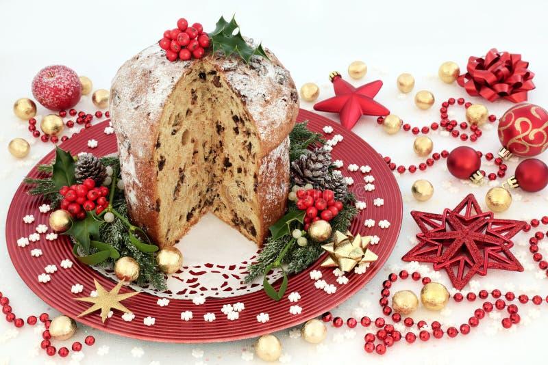 Tempo da festa de Natal imagem de stock