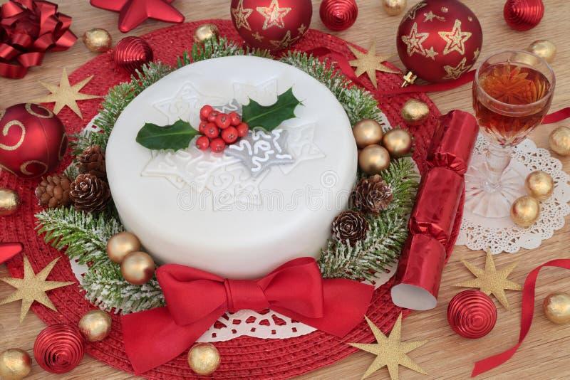 Tempo da festa de Natal foto de stock