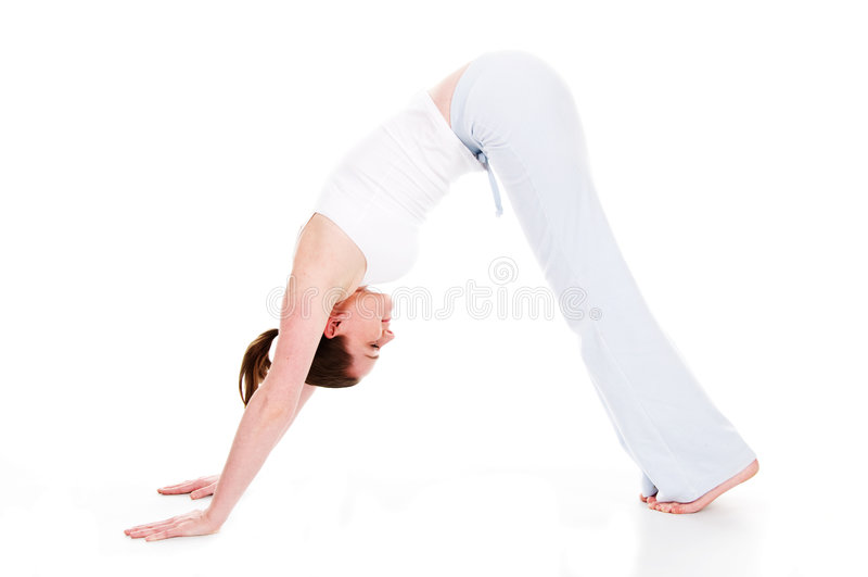 Tempo da ioga fotografia de stock