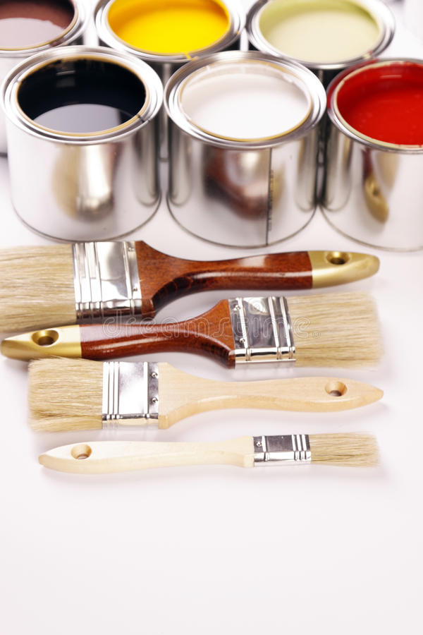 Tempo da pintura! fotos de stock