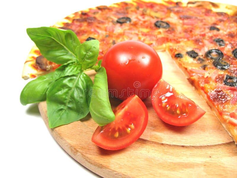Tempo da pizza imagens de stock royalty free