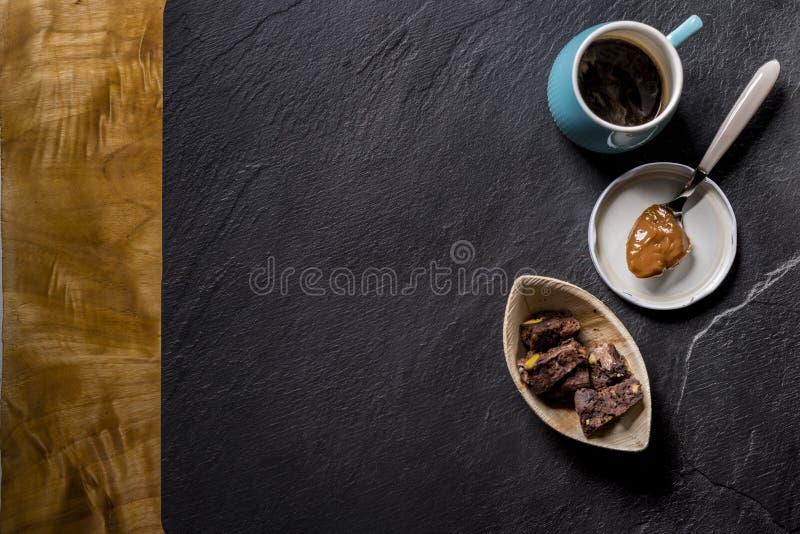 Tempo de café da manhã foto de stock