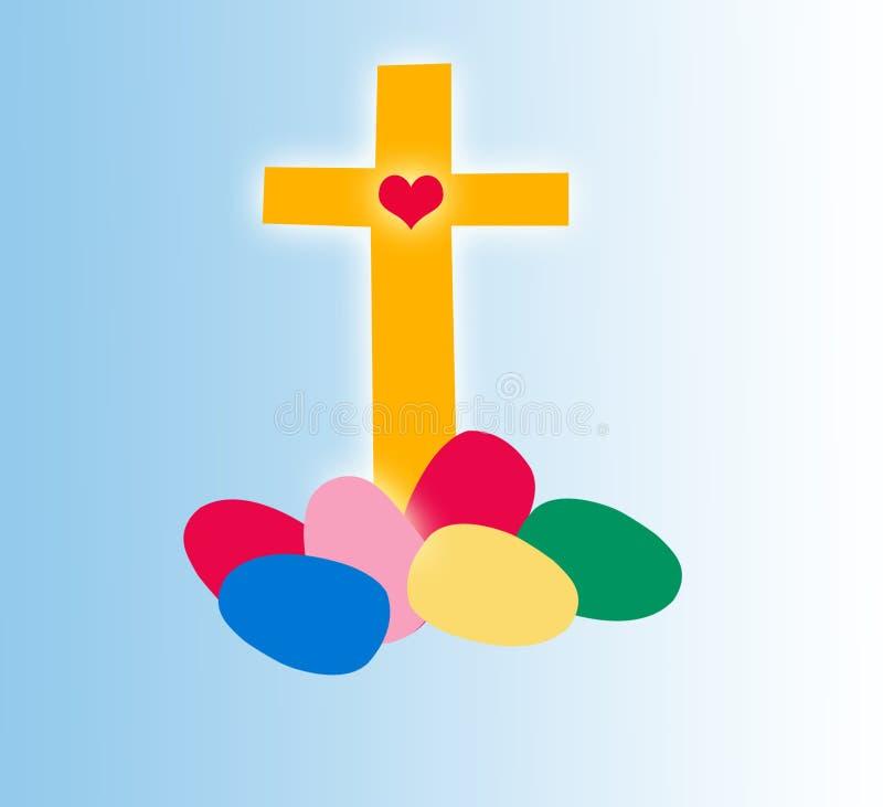 Tempo de Easter ilustração royalty free