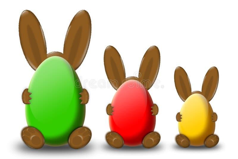 Tempo de Easter ilustração do vetor