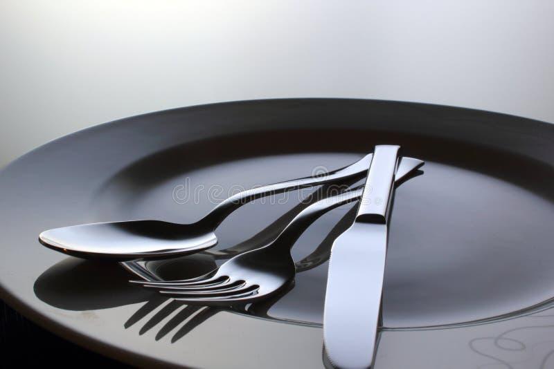 Tempo de jantar fotografia de stock