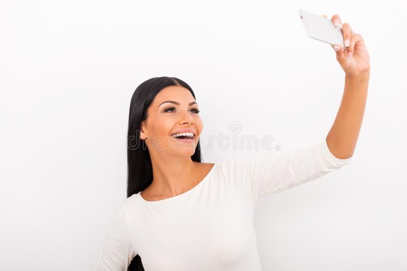 Tempo de Selfie! imagens de stock royalty free