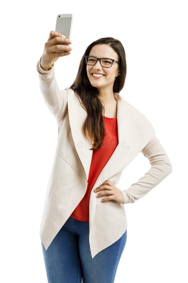 Tempo de Selfie fotos de stock