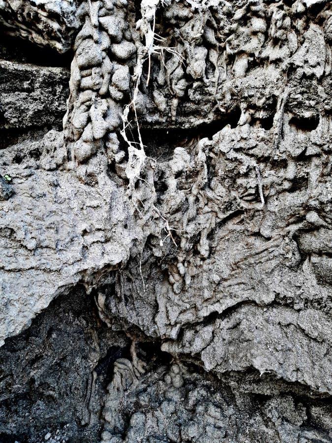 Tempo de sonhar com papel de parede de solo lama fotografia de stock royalty free