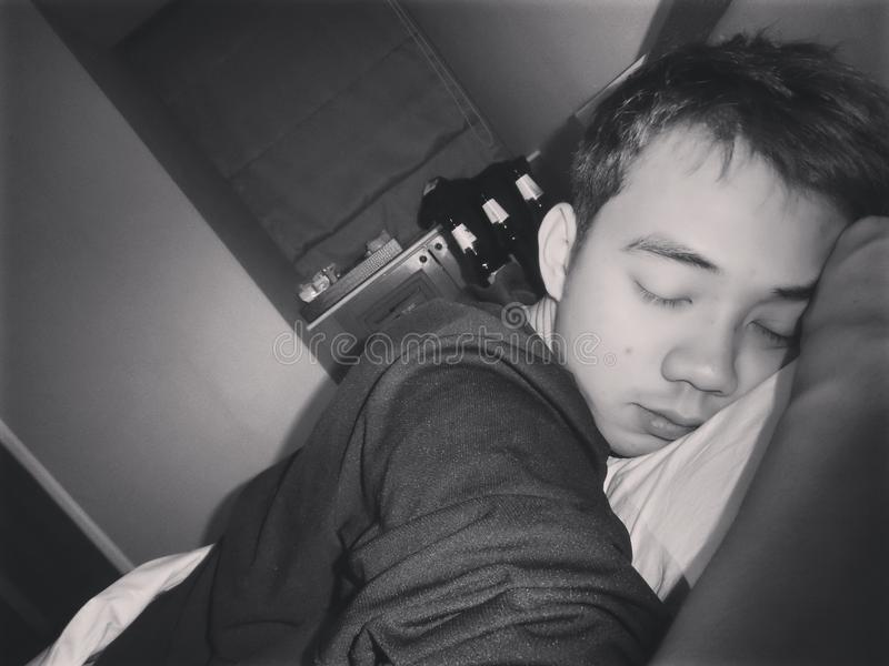 Tempo de sono foto de stock
