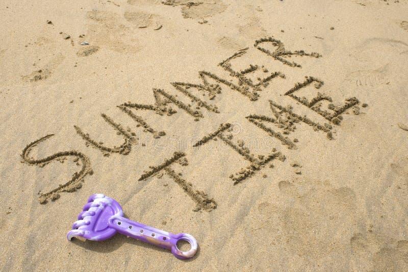 Tempo de verão imagens de stock