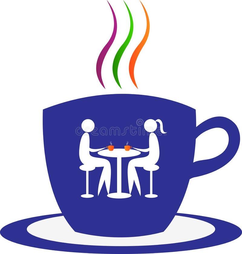 Tempo del caffè illustrazione vettoriale