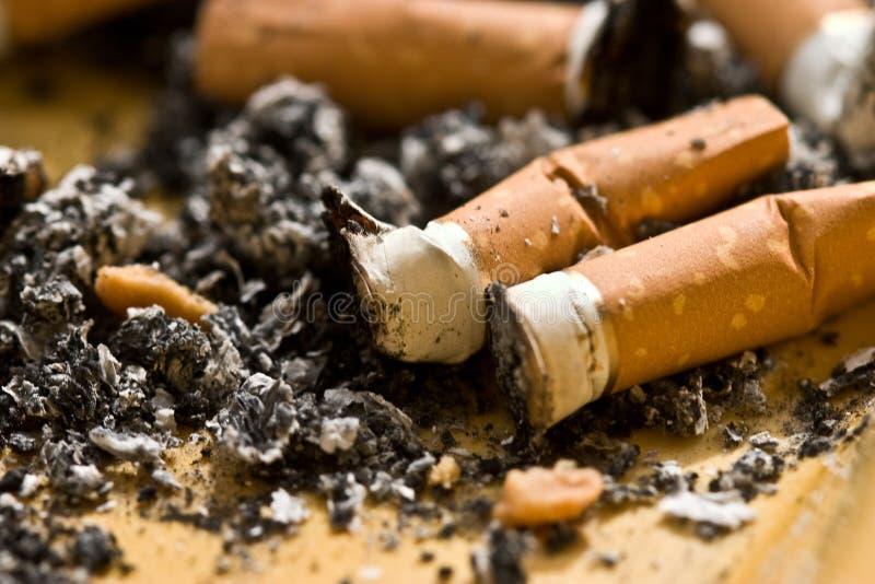 Tempo del fumo immagini stock