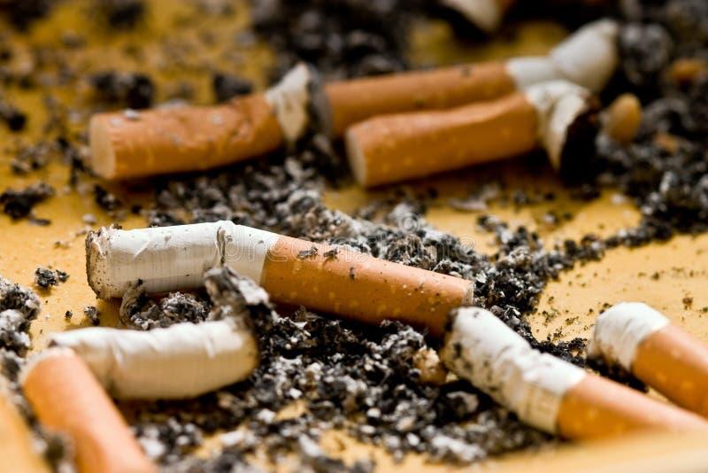 Tempo del fumo fotografia stock libera da diritti