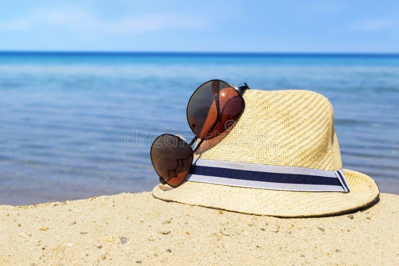 Tempo del partito sulla spiaggia immagini stock libere da diritti