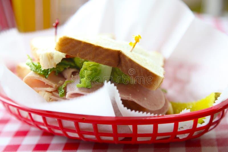 Tempo del pranzo! fotografie stock libere da diritti