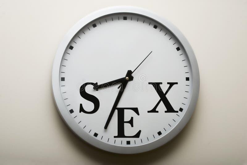 Tempo del sesso fotografia stock libera da diritti