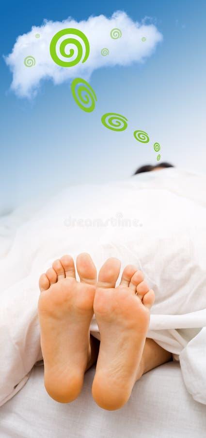 Tempo del sogno immagine stock libera da diritti