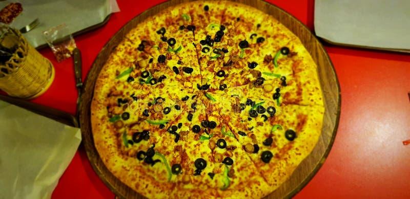 Tempo della pizza immagine stock