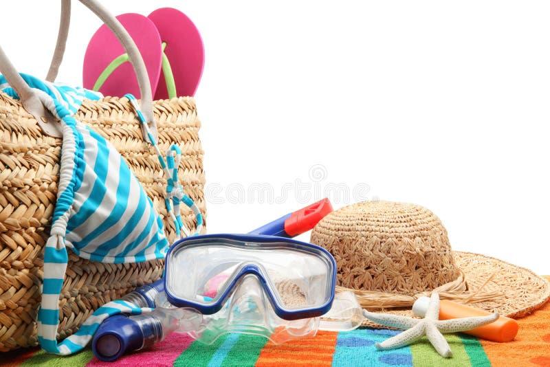 Tempo della spiaggia immagine stock libera da diritti