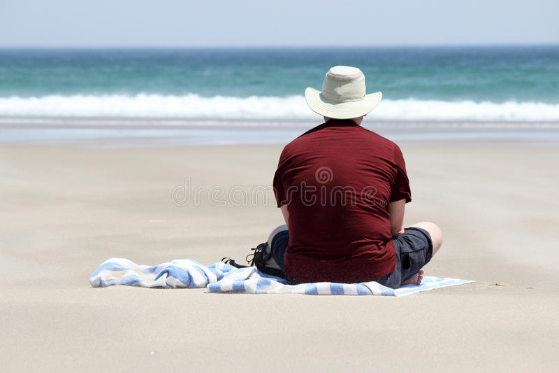 Tempo della spiaggia fotografia stock