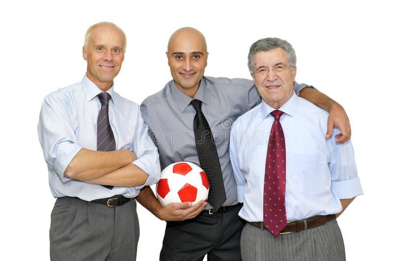 Tempo di calcio immagine stock