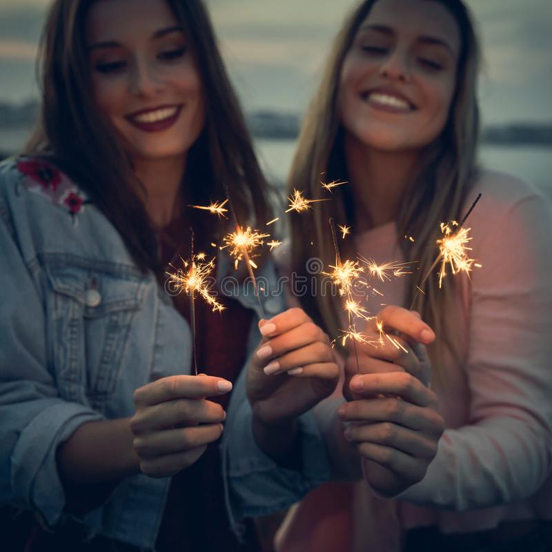 Tempo di celebrare felicità immagine stock libera da diritti