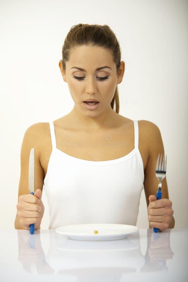Tempo di dieta? fotografie stock