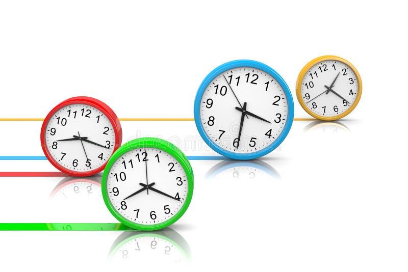 Download Tempo di esercizio illustrazione di stock. Illustrazione di background - 55364097