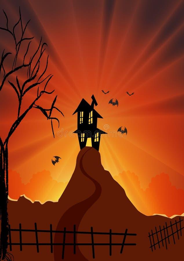 Tempo di Halloween illustrazione vettoriale