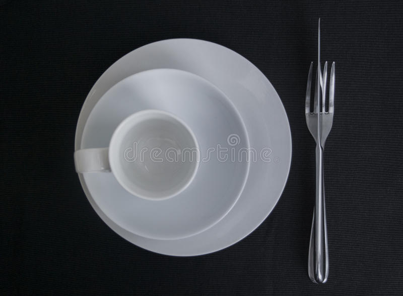 Tempo di mangiare immagine stock